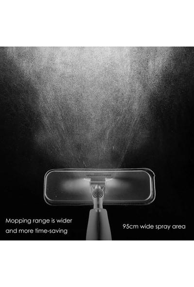 Deerma 360 Derece Dönen Su Püskürtmeli Sprey Mop Paspas + 1 Yedek Mikrofiber Mop (Deerma Türkiye Garantili)