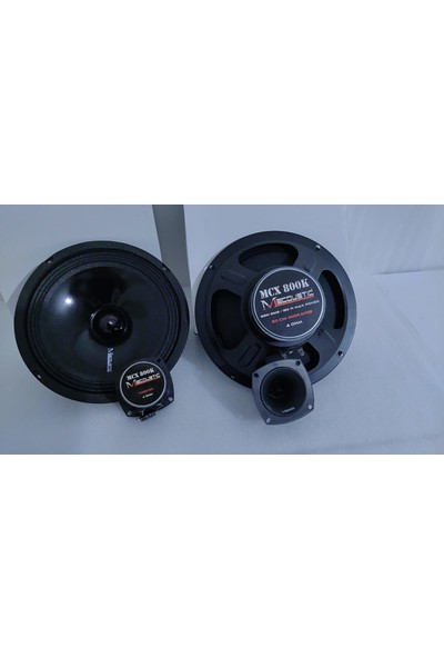 M Acoustic Mcx 800K 20 cm Midrange 35 mm Tweeter