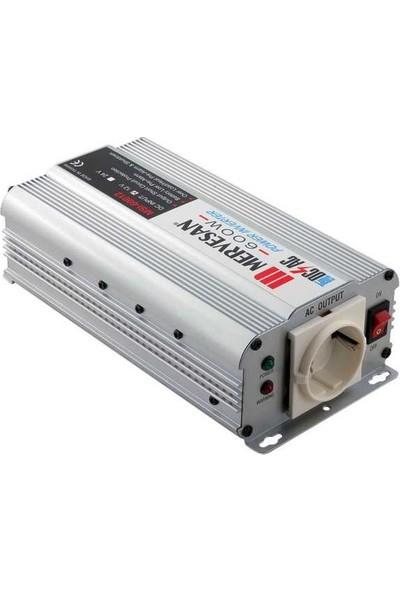 Mervesan MSI-60024 600W 24 V 230 V Dc Invertör