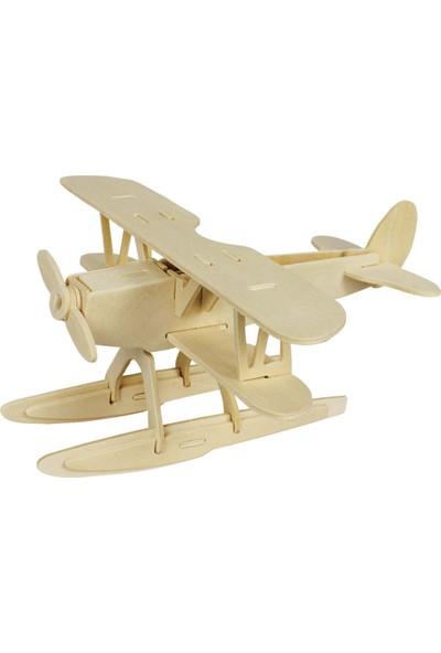 Robotime 3D Deniz Uçağı Ahşap Puzzle JP209