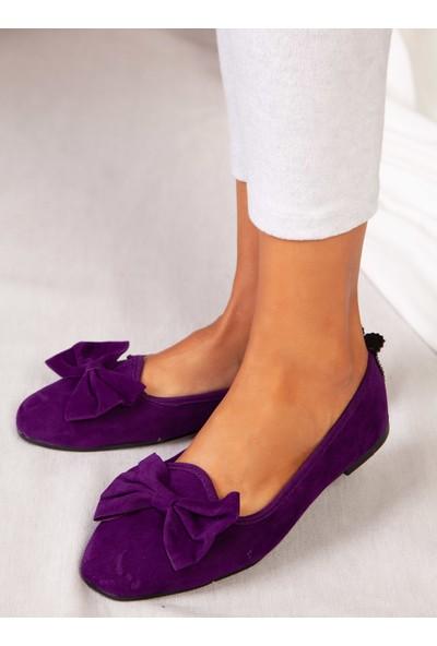 Ayakkabı Havuzu Ev Ayakkabısı - Mor