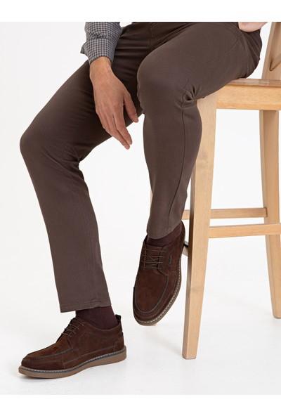 Pierre Cardin Kahverengi Oxford Ayakkabı 50233904-400