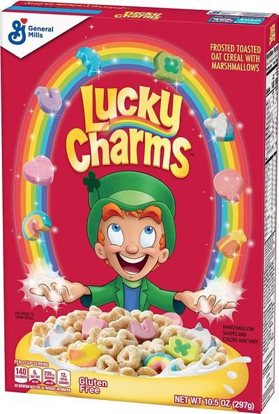 greneral Mills Lucky Charms Kahvaltılık grevrek 297 gr
