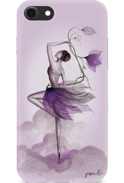 Yeşim Livaoğlu Çiçekle Dans Apple iPhone 7-8 Kılıfı