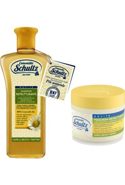 Schultz Onarıcı/yenileyici Şampuan 250 ml Sch-04 + Schultz Saç Maskesi 300 ml Sch-06 8004395096848