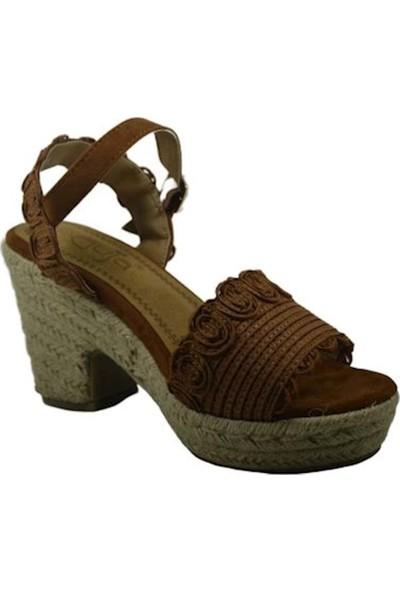 Guja 20Y241-1 Yüksek Taban Günlük Kadın Sandalet