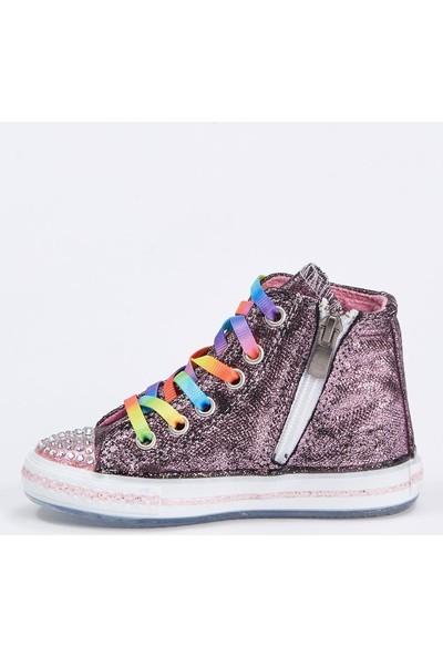 DeFacto Kız Çocuk Bağcıklı Sneaker Ayakkabı T0786A620AU