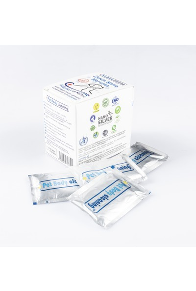 Pet Body Cleaning - Cleapet Büyük Sağlık Paketi(1 Kutu Havlu+1 Kutu Mendil+1 Adet Sprey 150ML)