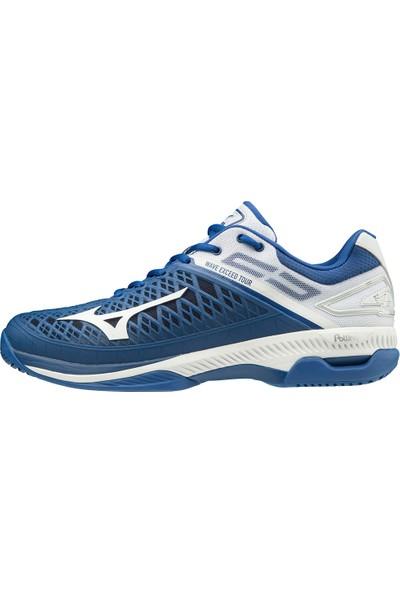 Mizuno Wave Exceed Tour 4 Ac Erkek Tenis Ayakkabısı Lacivert / Beyaz