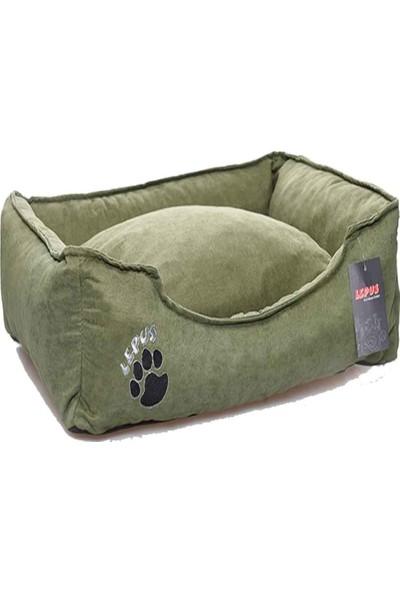 Lepus Soft Kedi Köpek Yatağı S Yeşil