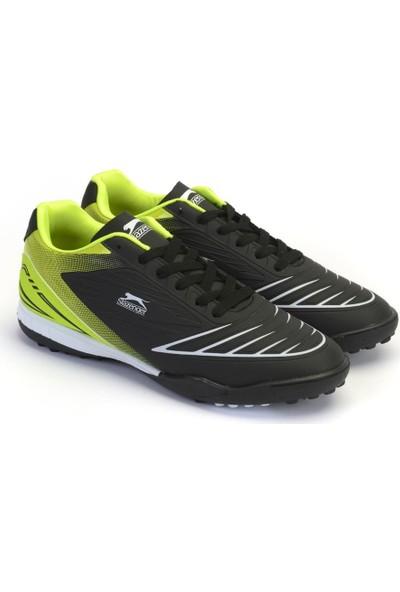 Slazenger Madog Futbol Çocuk Ayakkabı Siyah / Yeşil