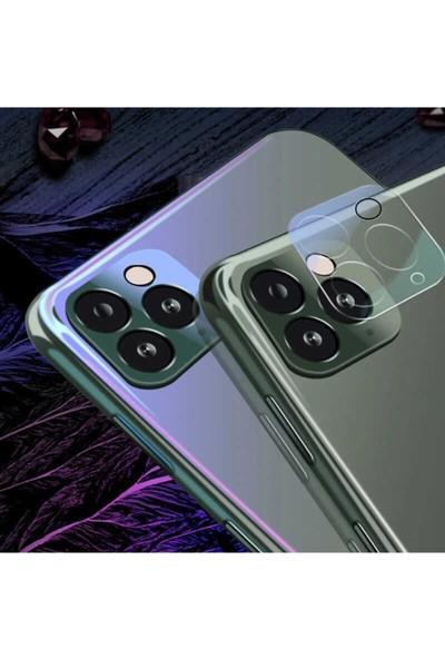ZORE Apple iPhone 12 Pro Max Zore 3D Full Kamera Koruyucu