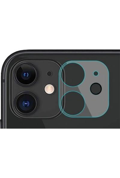 ZORE Apple iPhone 12 Mini Zore 3D Full Kamera Koruyucu