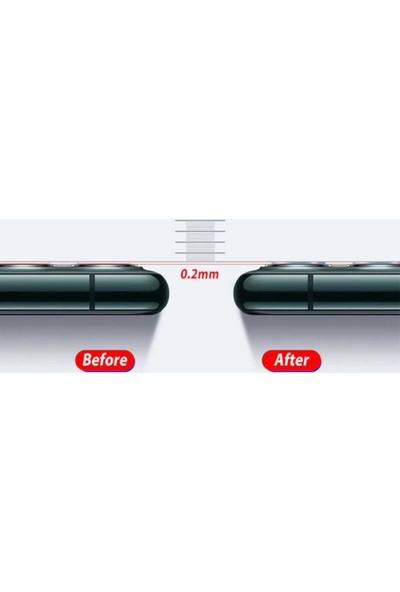 ZORE Apple iPhone 12 3D Full Kamera Koruyucu