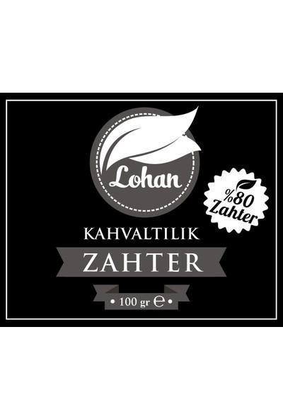 Lohan Kahvaltılık Zahter %80 Zahter El Yapımı 5 x 100 gr