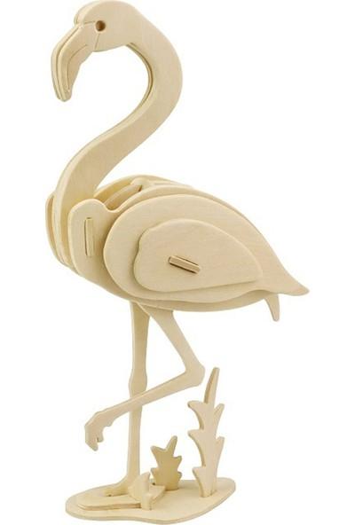 Robotime 3D Flamingo Ahşap Puzzle JP269