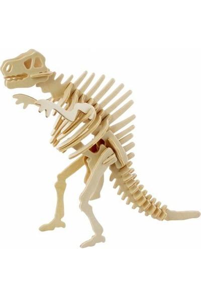 Robotime 3D T- Rex Spinosaurus Ahşap Puzzle JP220