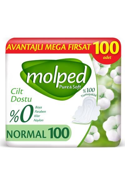 Molped Pure&Soft Normal Avantajlı Mega Fırsat Paketi 100 Adet