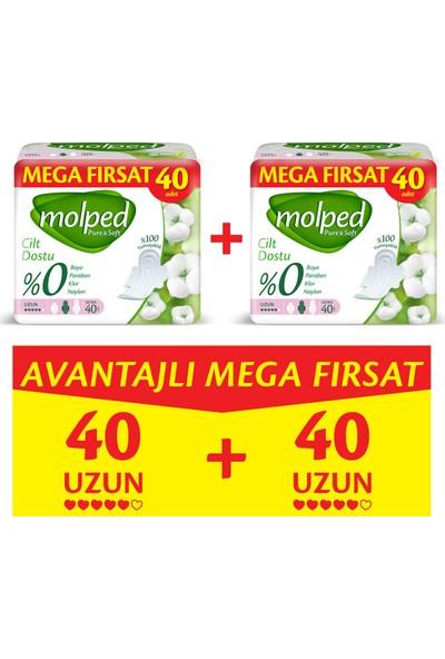 Molped Pure&Soft Uzun Avantajlı Mega Fırsat Paketi 80 Adet