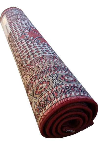 Ladik Bordo Renk Yumuşak Mihenk Seccade 80 x 125 cm