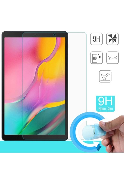 "Essleena Samsung Galaxy Tab S6 Lite SM-P610 10.4"" 330 Derece Bükülebilen Kırılmaz Cam Nano"