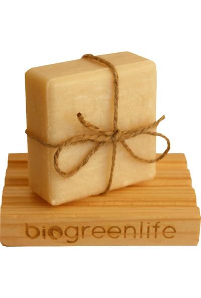 Biogreenlife Doğal Eşek Sütü Sabunu + Ahşap Sabunluk