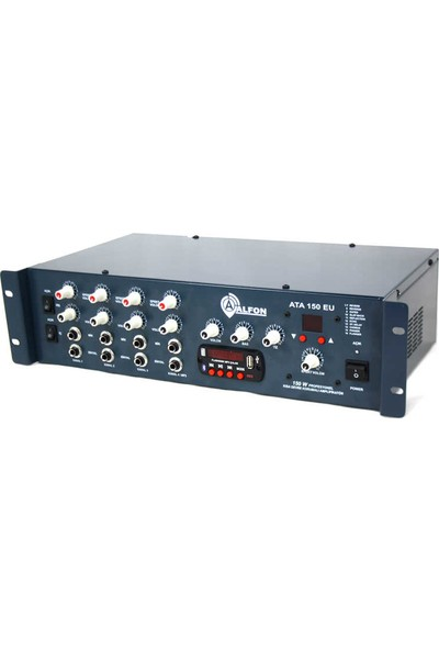 Alfon ATA-150EU Tr Usb,bt 150W Trafolu 4 Kanal Anf