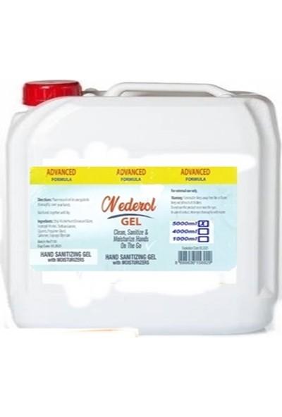 Mederol Dezenfektan J Nemlendiricili Mikrop Kırıcı Jel 5000 ml
