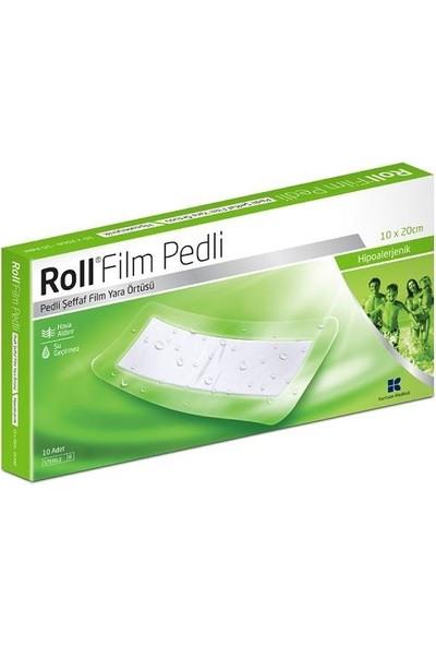 Roll Film Pedli 10X20 cm Steril Pedli Film Yara Örtüsü 1 Adet Su Geçirmez