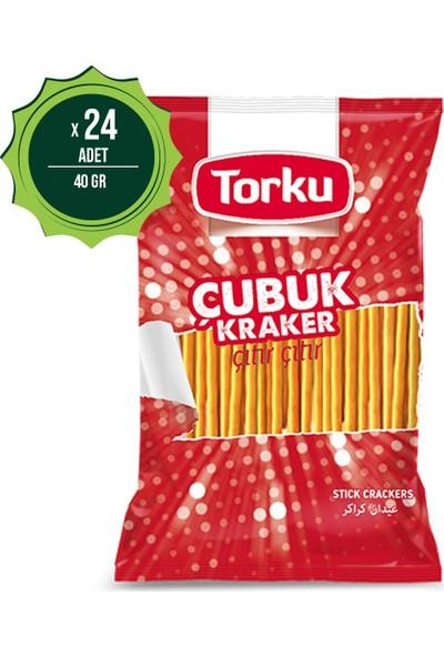 Torku Tuzlu Çubuk Kraker 40 gr x 24