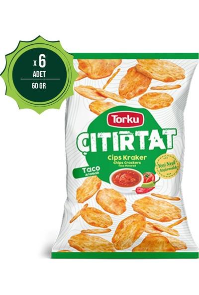 Torku Çıtırtat Taco Baharatlı Kraker 60 Gr X6