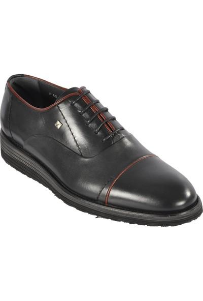 Fosco Siyah Erkek Klasik Deri Ayakkabı