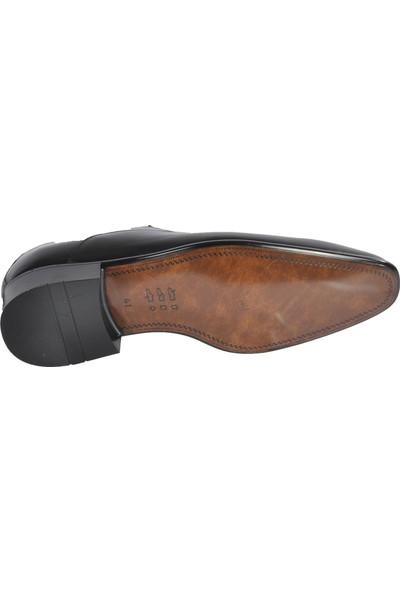 Fosco Siyah Erkek Deri Klasik Ayakkabı