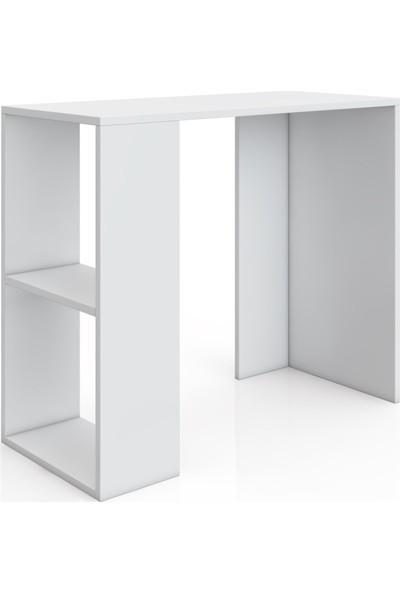 Mihenk Çalışma Masası Mihenk Laptaop Masası Beyaz