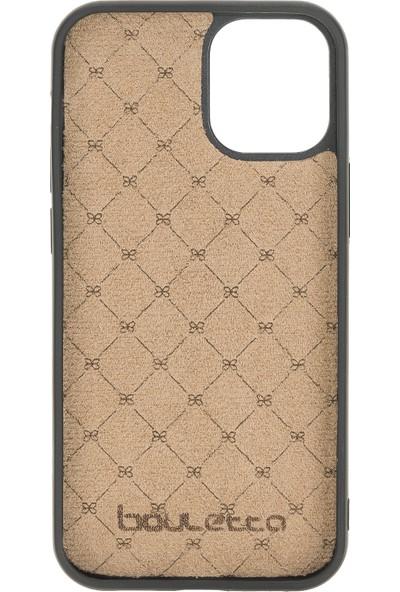 Bouletta Mw Deri Telefon Kılıfı iPhone 12/12 Pro TN03 Kahve Rfıd