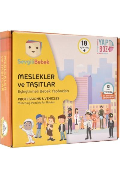 SevgiliBebek Bebek Yapboz Puzzle - Meslekler ve Taşıtlar