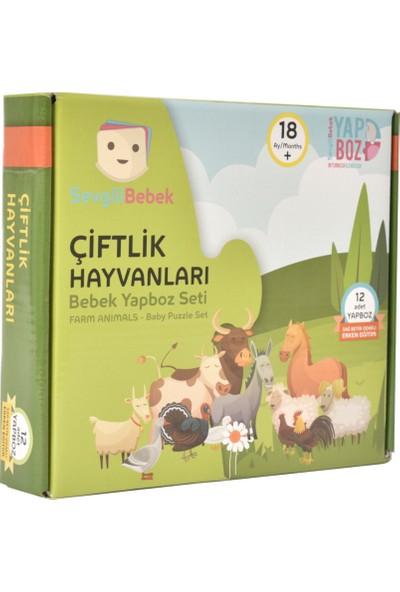 SevgiliBebek Bebek Yapboz Puzzle - Çiftlik Hayvanları