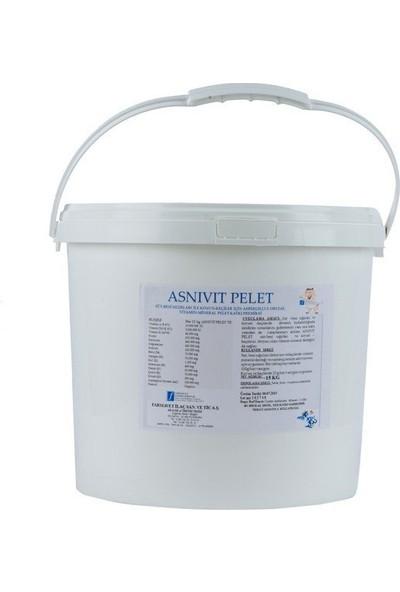 Farmavet Asnivit Pelet Rumen Içi Enzim Aktivatörü ve Vitamin Desteği