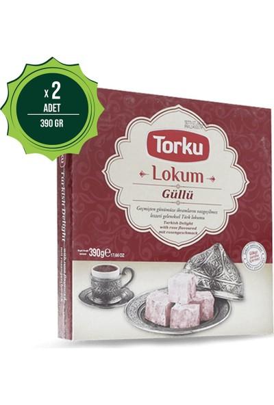 Torku Güllü Lokum 390 Gr X2