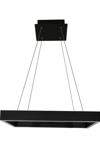 DLC Profil Sarkıt Kare Antrasit 3000K