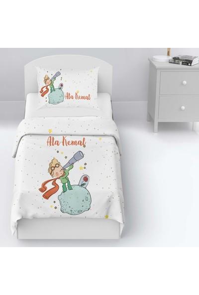 Homamia Tek Kişilik Yatak Örtüsü Küçük Prens