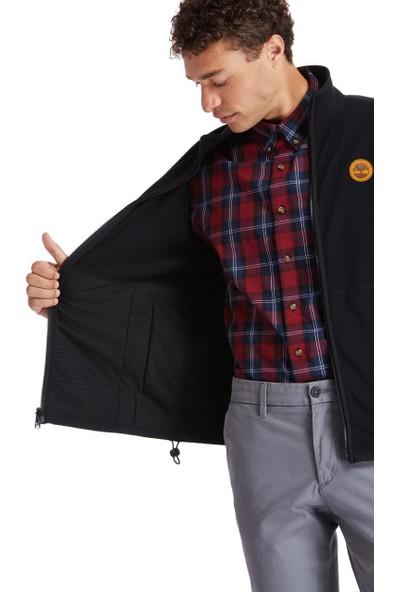 Tımberland Siyah Mix Media Cls Full Zip Fleece Jacket Polar TB0A2CWN0011