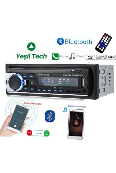 Kıngwın KW-3000 Araba Oto Teyp 4*60 w Bluetooth USB Sd Aux