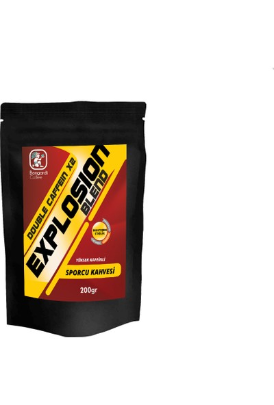 Bongardi Coffee 200 gr Sporcu Kahvesi Explosion Blend 2 Kat Kafeinli !