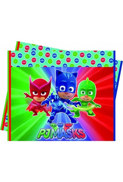 Kullanatparty Pj Masks Pijamaskeliler Masa Örtüsü 120X180 cm