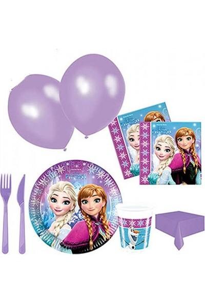 Kullan At Party Kullanatparty Lisanslı Frozen Buz Işıltısı Parti Seti 8 Kişilik