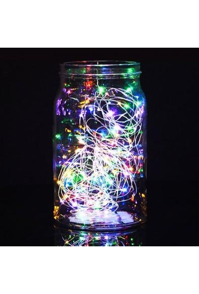 Kullan At Party Kullanatparty Karışık Renk Pilli Peri LED Yılbaşı Süsleme Rgb LED 3 Mt.