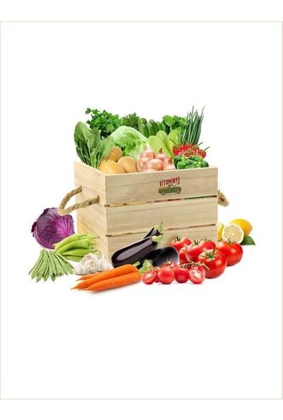 Vitaminye Taze Sebze Sepeti