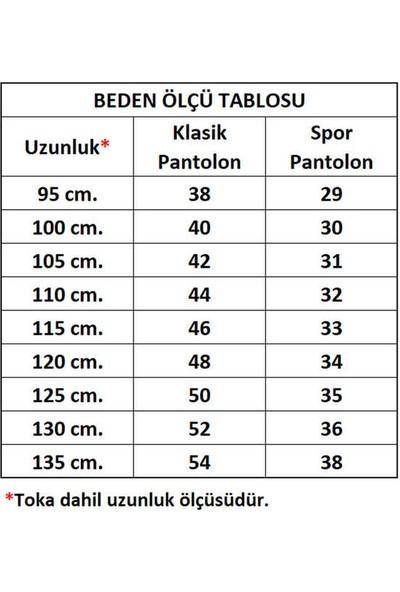 Süzer Deri * 4.5 Cm. Spor Deri Kemer Kahverengi Düz