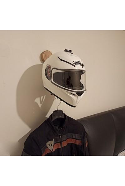 Mumu Dekoratif Motosiklet Kask ve Mont Askılığı